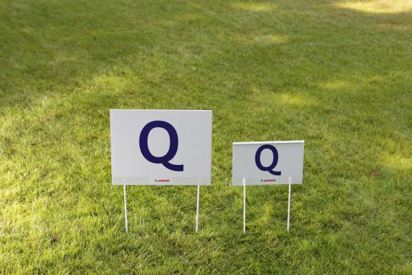 Anzeige Q für Qualifikationsweiten