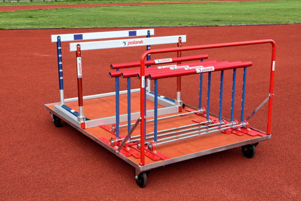 Polanik Universal-Transportwagen für Sportplätze - 2 x 1,25 Meter - 300 kg