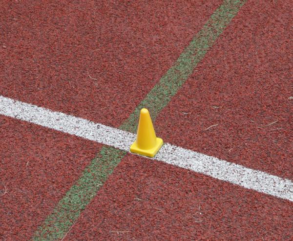 Einlaufhütchen für Laufwettbewerbe - IAAF 163.5