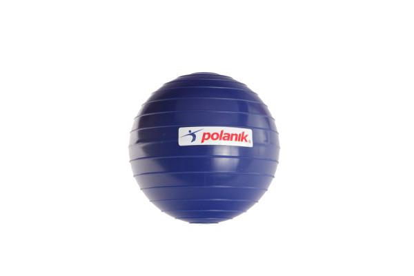 Geriffelter Speerwurfball aus hartem Kunststoff