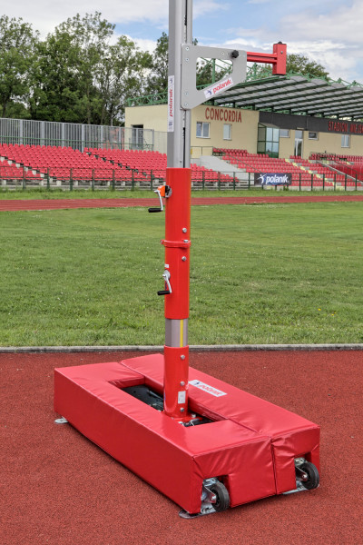 Schutzabdeckungen für Schienen der Wettkampfständer