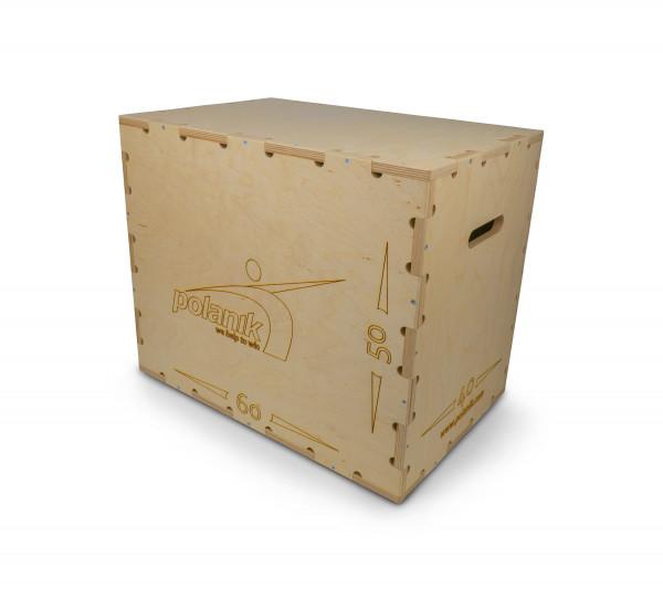Polanik Plyobox aus Holz für Sprung- und Sprinttraining - drei Höhen