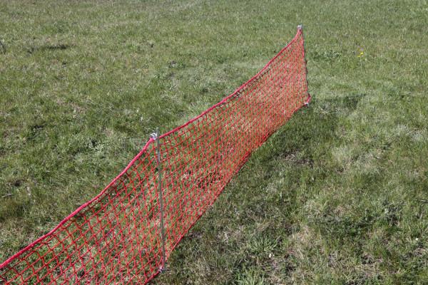 Polanik Schutznetz zur Abrenzung von Wurfsektoren
